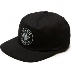 Diamond Supply Co. Diamond Trader Snapback Hat - Black