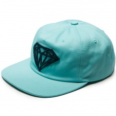 Diamond Supply Co. Brilliant Unconstructed Snapback Hat - Diamond Blue