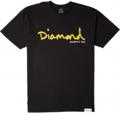 Diamond Supply Co. OG Script T-Shirt - Black