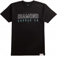 Diamond Supply Co. College T-Shirt - Black
