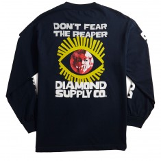 Diamond Supply Co. Reaper Longsleeve T-Shirt - Navy