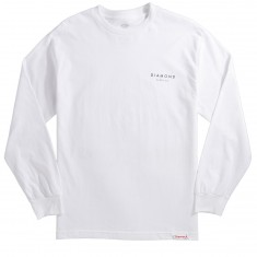 Diamond Supply Co. Stone Cut Longsleeve T-Shirt - White