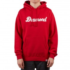 Diamond Supply Co. City Script Hoodie - Red