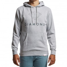 Diamond Supply Co. Futura Sign Hoodie - Heather Grey