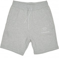 Diamond Supply Co. Futura Sign Sweat Shorts - Heather Grey