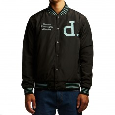 Diamond Supply Co. Un Polo Varsity Jacket - Black