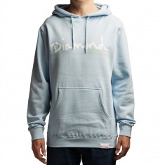 Diamond Supply Co. OG Script Hoodie - Powder Blue