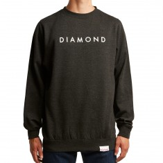 Diamond Supply Co. Futura Crewneck Sweatshirt - Charcoal Heather