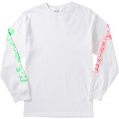 Hall Of Fame Stoneaged Longsleeve T-Shirt - White