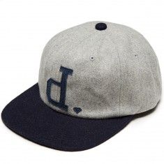 Diamond Supply Co. Un Polo Unconstructed Strapback Hat - Grey