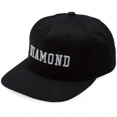 Diamond Supply Co. Fordham Snapback Beanie - Black