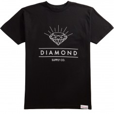 Diamond Supply Co. Radiance T-Shirt - Black