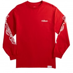 Diamond Supply Co. Giant Script Longsleeve T-Shirt - Red