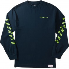Diamond Supply Co. Tilt Longsleeve T-Shirt - Navy