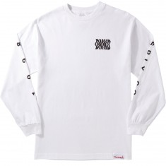 Diamond Supply Co. Warp Longsleeve T-Shirt - White