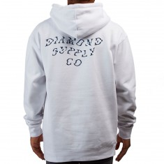 Diamond Supply Co. Wave Hoodie - White