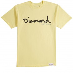 Diamond Supply Co. OG Script SP18 T-Shirt - Banana