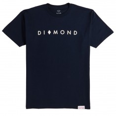 Diamond Supply Co. Marquise SP18 T-Shirt - Navy