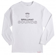 Diamond Supply Co. Diamond Records Long Sleeve T-Shirt - White