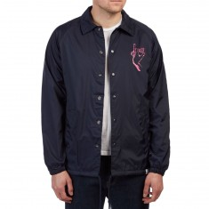 Diamond Supply Co. Sign Language Coaches Jacket - Navy