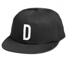 Diamond Supply Co. Home Team Unconstructed 6 Panel Snapback Sp18 Hat - Black