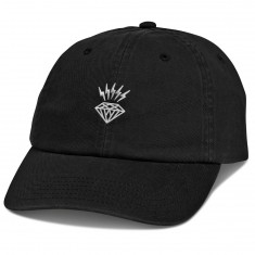 Diamond Supply Co. Lightning Sports Hat - Black