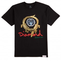 Diamond Supply Co. Alligator T-Shirt - Black