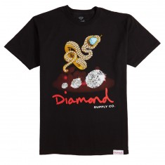 Diamond Supply Co. Snake T-Shirt - Black