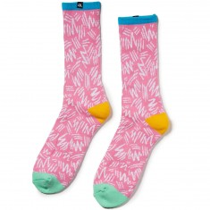 The Quiet Life Ziggity Socks - Pink