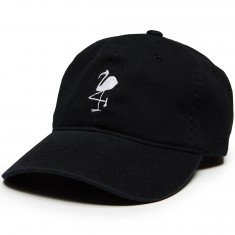 Quiet Life Flamingo Dad Hat - Black