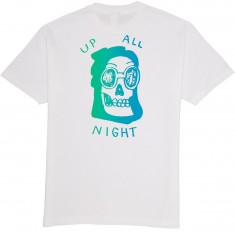 Quiet Life Up All Night T-Shirt - White