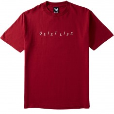 Quiet Life Stagger T-Shirt - Red