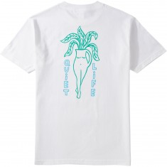 Quiet Life Plant Life T-Shirt - White