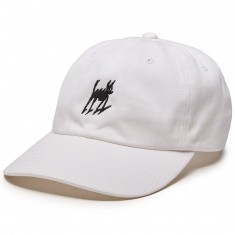 Quiet Life Lucky Dad Hat - White