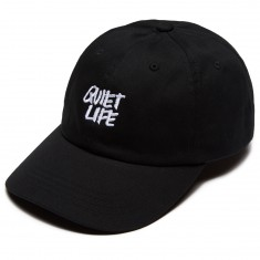Quiet Life Jarvis Dad Hat - Black
