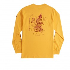 Quiet Life Bring Me Down Long Sleeve T-Shirt - Gold