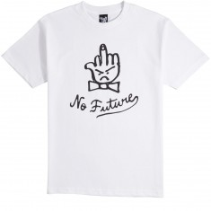 Quiet Life No Future T-Shirt - White