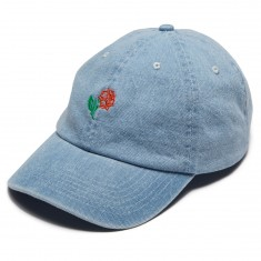 Quiet Life Rose Dad Hat - Denim