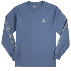 Quiet Life Sail Long Sleeve T-Shirt - Slate