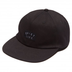 Quiet Life Field Polo Hat - Black