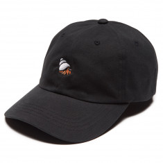 Quiet Life Crab Dad Hat - Black