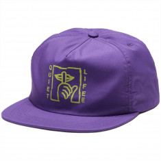 935453722dfa7 The Quiet Life Shatter Relaxed Snapback Hat - Purple
