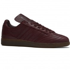 Adidas Busenitz Horween Leather LTD Shoes - Night Red/Gum