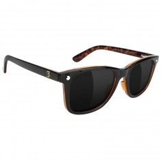 Glassy Mikemo Premium Polarized Sunglasses - Black/Tortoise