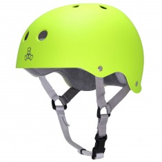 Triple Eight Sweatsaver Helmet - Zest Rubber