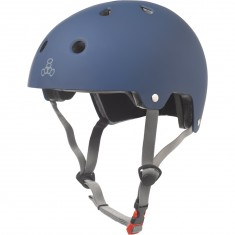 Triple Eight Dual Certified EPS Helmet - Blue Rubber