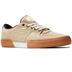 Globe Mojo Legacy Shoes - Khaki/White
