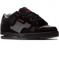 Globe Sabre Shoes - Black/Pewter/Red