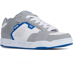 Globe Scribe Shoes - Grey/White/Blue