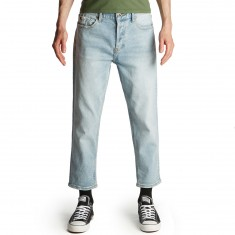 RVCA Neutral Flood Denim Jeans - Original Bleach